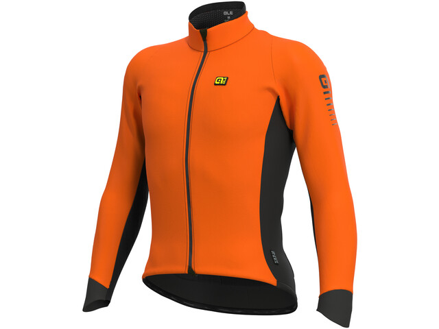 Alé Cycling Clima Protection 2.0 Wind Race Veste Homme, fluo orange